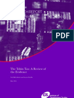 The Tobin Tax- A Review of Evidence May 2011