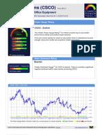 Chaikin Power Gauge Report CSCO 29Feb2012