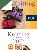 Knitting Calendar 2012