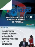 PROPUESTA BÚSQUEDA SELECCIÓN Y EVALUACIÓN DE PERSONAL - AQP