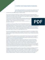 Acerca de La Impostura Cientifista de Las Terapias Cognitivo-Conductuales.