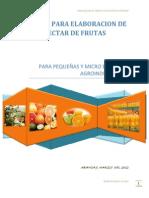 Manual Elaboracion Nectar-curso Soccos 2012