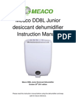 Meaco DD8LJ User Manual