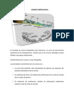 Cuenca hidrológica.