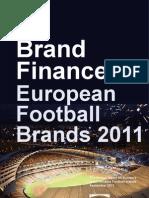 Top 30 European Football Brands 2011 Final Website