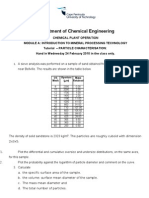 Tut2 Characterisation of Particles