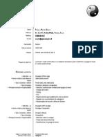 Curriculum Fanelli Pietro Oscar