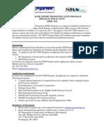 Dc Step Program Application Form - April 2012