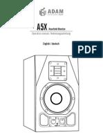 A5X Manual