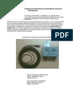 Instalación de acelerómetros en reductores de velocidad de Torres de Enfriamiento