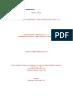 Modelo de Relatório de Aulas Práticas