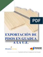 Esportacion de Pisos en Guadua a La U.E.