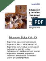 Educación y desafíos, revolución digital