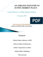 State of the Airline Industry - TAAG Angola Airlines