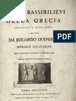Dodwell 1812 (Bassorilievi Dalla Grecia)