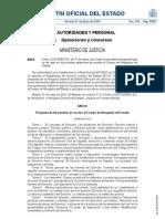 Temario de Abogados Del Estado (BOE Del 11 de Junio de 2010)
