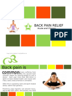 Yoga for Back Pain - Presentation