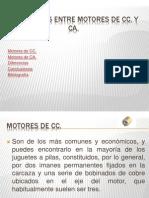 Diferencias Entre Motores de CC y CA