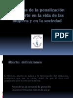 Legalizacion Del Aborto