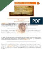 Puntos Sobresalientes - Ezequiel 1 a 5