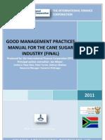 IFC GMP ManualCaneSugarIndustry