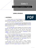 APOSTILA DE QUIMICA ORGANICA SIMPLIFICADA CAP.1