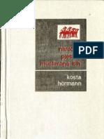 Narodne pjesme Muslimana u Bosni i Hercegovini, knjiga 1 [Kosta Hörmann, 1976.]