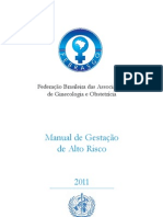 Manual Gestacao Alto Risco 2011