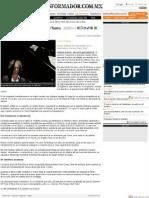 Experimentaciones sonoras en el Teatro Degollado (20.06.2011) Guadalajara Jalisco - Alejandro Oliveros - El Informador