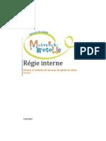 Régie interne Mademoiselle Bretelle(1)