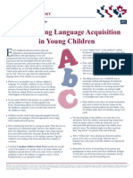 Language Acquisition in Children