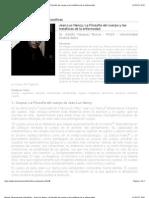 Revista Observaciones Filosóficas - Jean-Luc Nancy