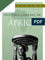 Guia de la Colección Historia General de África 8 Tomos