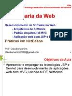 Arquitetura MVC para Aplicações Web
