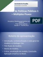 Modelos de Politicas Publicas 1 - Multiplos Fluxos_III