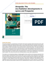The Smallest Anthropoids the Marmoset Callimico Radiation (Developments in Primatology Progress And