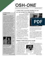 VOSH ONE Newsletter Winter Spring 2009 2010