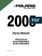 Polaris Predator Parts Manual