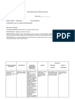 Planificacion Didactica Curricular
