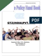 Employee Hand Book Gtz