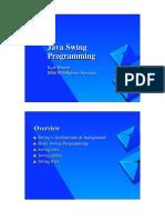 Swing Programming