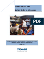 Private Sector+Humanitarian Response