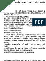 Bai Giang on Tap Cca