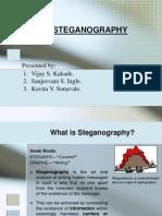 Steganography..Ppt