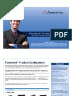 Powersphere Product Configurator