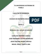 Ensayo candidatos rumbo a la presidencia de mexico 2012