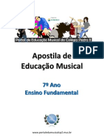 83646417 Apostila de Educacao Musical