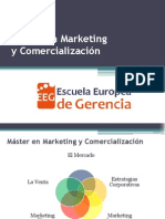 Máster de Marketing y Comercialización