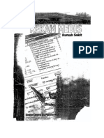 Pedoman Penyelenggaraan & Prosedur Rekam Medis Rumah Sakit Tahun 2006