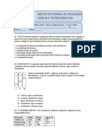 INSTITUTO FEDERAL DE EDUCAÇÃO CIENCIA E TECNOLOGIA